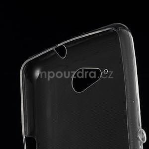 Ultra tenký gelový obal na Sony Xperia E4g - transparentní - 4