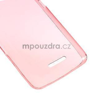 Ultra tenký gelový obal na Sony Xperia E4g - červený - 4