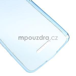 Ultra tenký gelový obal na Sony Xperia E4g - modrý - 4