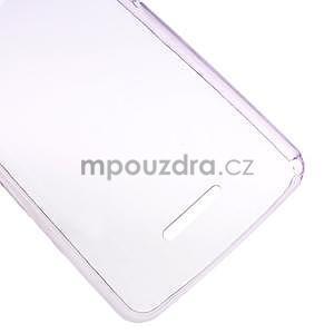 Ultra tenký gelový obal na Sony Xperia E4g - fialový - 4