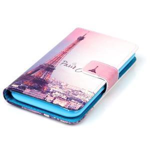 Emotive knížkové pouzdro na Sony Xperia E4g - Eiffelova věž - 4