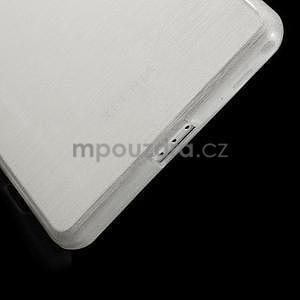 Broušený gelový obal na Sony Xperia Z2 - bílý - 4