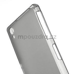 Šedý matný gelový obal na Sony Xperia Z2 - 4
