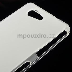Transparentní matný gelový obal na Sony Xperia Z3 Compact - 4