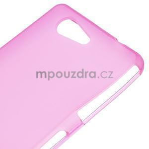 Rose matný gelový obal na Sony Xperia Z3 Compact - 4