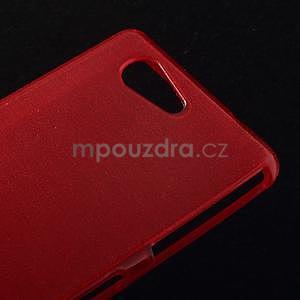 Broušený obal na Sony Xperia Z3 Compact D5803 - červený - 4