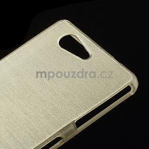 Broušený obal na Sony Xperia Z3 Compact D5803 - champagne - 4