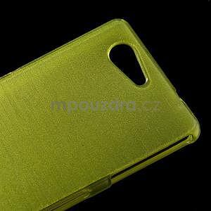 Broušený obal na Sony Xperia Z3 Compact D5803 - zelený - 4