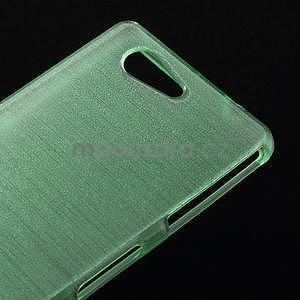 Broušený obal na Sony Xperia Z3 Compact D5803 - azurový - 4