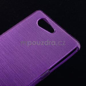 Broušený obal na Sony Xperia Z3 Compact D5803 - fialový - 4