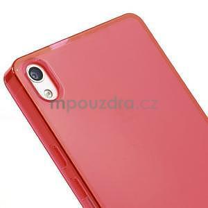 Gelové pouzdro na Huawei Ascend P6 - červené - 4