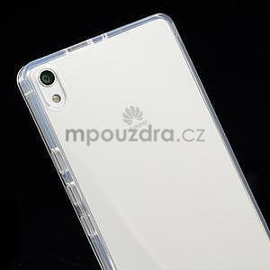 Gelové pouzdro na Huawei Ascend P6 - transparentní - 4