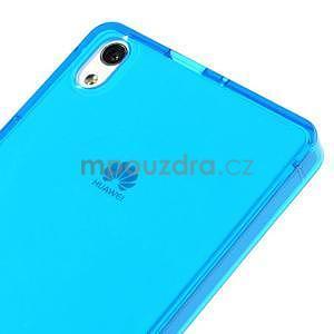 Gelové pouzdro na Huawei Ascend P6 - modré - 4