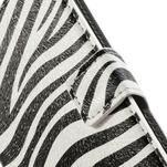 Peněženkové pouzdro na Huawei Ascend P6 - zebra - 4/6