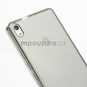 Gelové pouzdro na Huawei Ascend P6 - šedé - 4