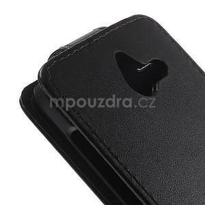 PU kožené flipové pouzdro na Huawei Ascend Y550 - 4