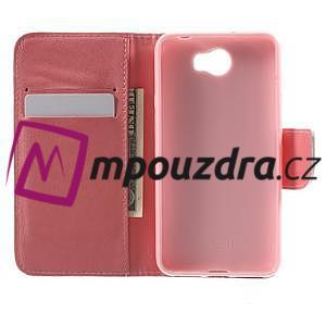 Emotive peněženkové pouzdro na Huawei Y5 II - Keep Calm - 4