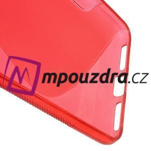 S-line gelový obal na mobil Huawei Y5 II - červený - 4
