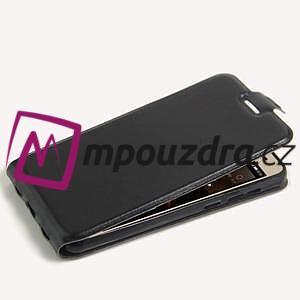Flipové PU kožené pouzdro na Huawei Y5 II - černé - 4