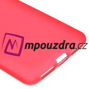 Matný gelový obal na telefon Huawei Y5 II - červený - 4