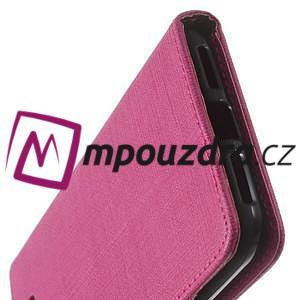 Clothy peněženkové pouzdro na Huawei Y5 II - rose - 4
