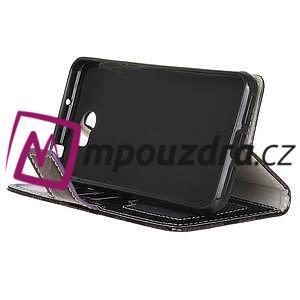 Pouzdro s hadím motivem na mobil Huawei Y5 II - fialové - 4