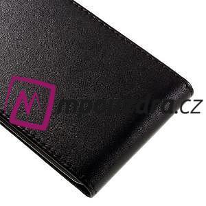 Černé flipové pouzdro na Huawei Y5 II - 4