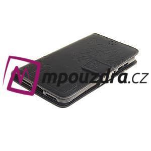 Dandelion PU kožené pouzdro na Huawei Y5 II - černé - 4