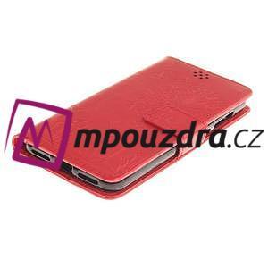 Dandelion PU kožené pouzdro na Huawei Y5 II - červené - 4