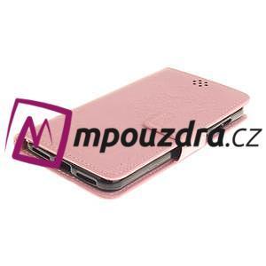 Dandelion PU kožené pouzdro na Huawei Y5 II - růžové - 4