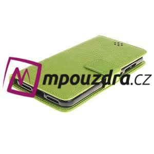 Dandelion PU kožené pouzdro na Huawei Y5 II - zelené - 4