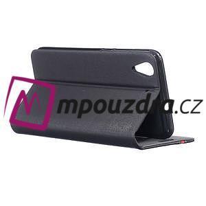 Klopové pouzdro na mobil Huawei Y6 II a Honor 5A - černé - 4