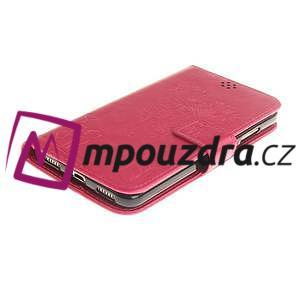 Dandelion PU kožené pouzdro na Huawei Y6 II a Honor 5A - rose - 4