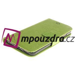 Dandelion PU kožené pouzdro na Huawei Y6 II a Honor 5A - zelené - 4