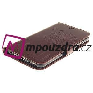 Dandelion PU kožené pouzdro na Huawei Y6 II a Honor 5A - hnědé - 4