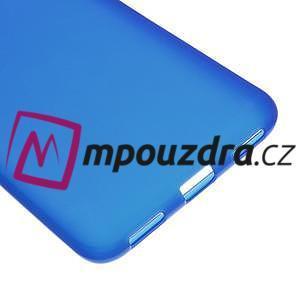 Matný gelový obal na Huawei Y6 II a Honor 5A - modrý - 4