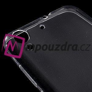 Ultratenký gelový obal na mobil Huawei Y6 II a Honor 5A - transparentní - 4