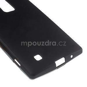 Matný gelový kryt na LG G4c H525n - černý - 4