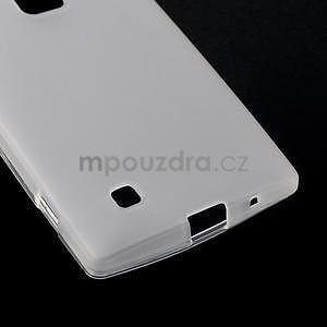 Matný gelový kryt na LG G4c H525n - bilý - 4