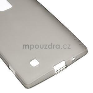 Matný gelový kryt na LG G4c H525n - šedý - 4