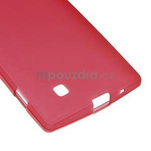 Matný gelový kryt na LG G4c H525n - červený - 4