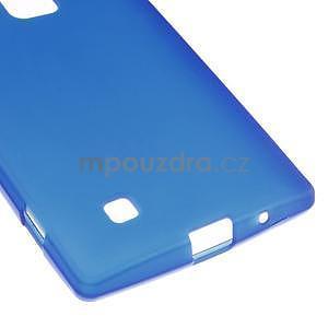Matný gelový kryt na LG G4c H525n - modrý - 4