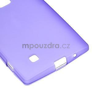 Matný gelový kryt na LG G4c H525n - fialový - 4