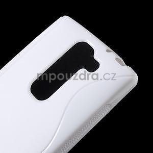 Bílý gelový obal S-line na LG G4c H525n - 4