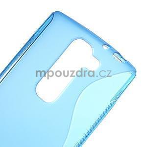 Modrý gelový obal S-line na LG G4c H525n - 4
