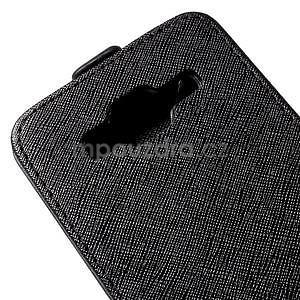 Flipové pouzdro na Samsung Galaxy J5 - černé - 4