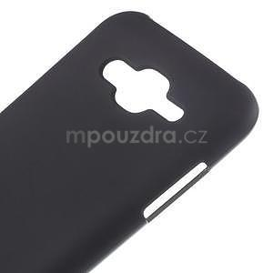 Matný gelový obal Samsung Galaxy J5 - černý - 4
