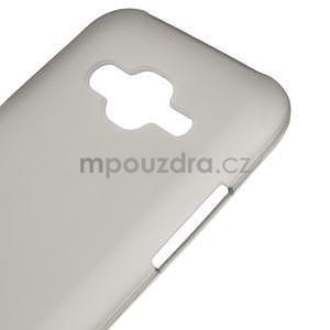 Matný gelový obal Samsung Galaxy J5 - šedý - 4