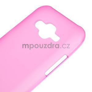 Matný gelový obal Samsung Galaxy J5 - rose - 4