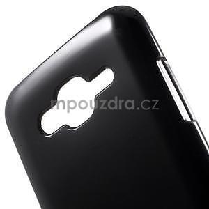 Černý gelový kryt pro Samsung Galaxy J5 - 4